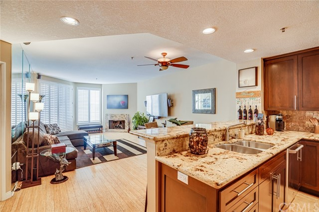 Open Concept keeps you connected to Family and Friends.