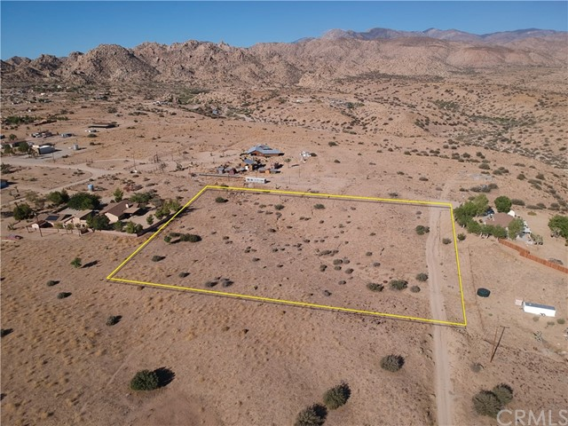 0 Mountain View Drive, Pioneertown, CA 92268