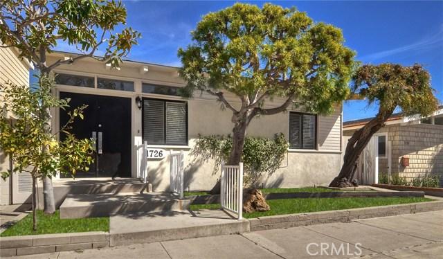 1726 Miramar Drive, Newport Beach, CA 92661