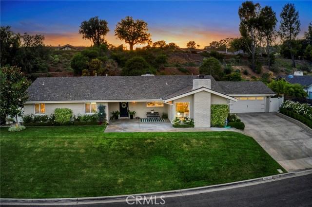 10411 Mira Vista Drive, North Tustin, CA 92705