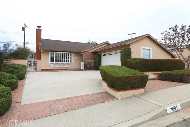 1801 Tyler Drive, Monterey Park, CA 91755