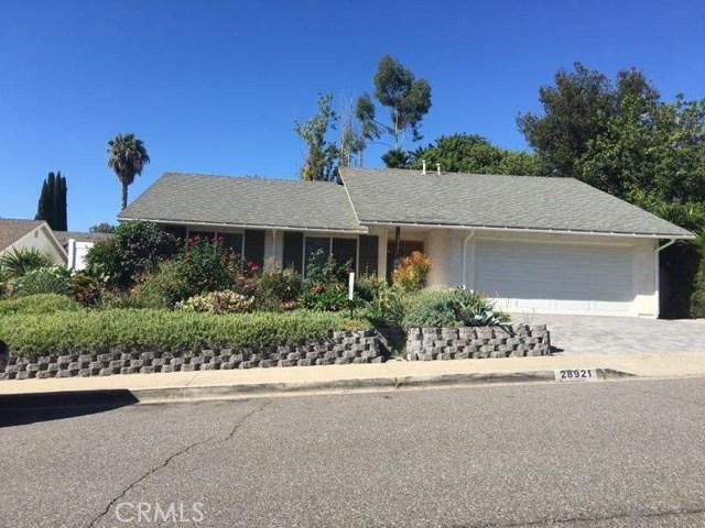 28921 De La Luna Drive, Mission Viejo, CA 92692