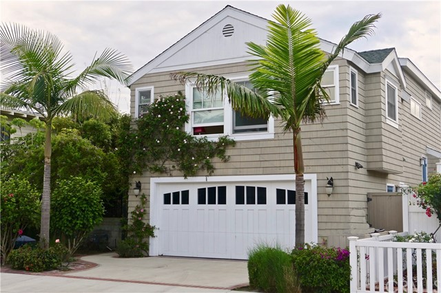 This classic Craftsman Beach Home runs street to alley and is located in the most highly sought after neighborhood in Hermosa Beach.  This is a warm and inviting home that was extensively remodeled in 2009. Hardwood floors run throughout, marble counters, and stainless appliances including Meile dishwasher and 6 burner Viking gas range... meticulously designed with no expense spared.  Formal living and dining room with built-in vintage buffet and bookcases, french doors, glass knobs, crown molding, and coved ceilings... no detail overlooked. The ocean-view master suite offers a walk-in closet, large marble shower & jetted tub wet room.  Other luxurious mentionables include an entertaining outdoor living area, outdoor hot/cold shower, and a large 2 car garage.  Just 2 stop signs to the sand, and a fun walk to downtown, shops, and restaurants. This is the life... this is Hermosa! Come and see the original, non-cookie cutter beach home you've been seeking!