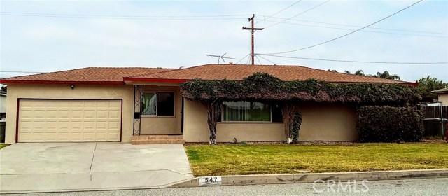 547 N Morada Avenue, West Covina, CA 91790