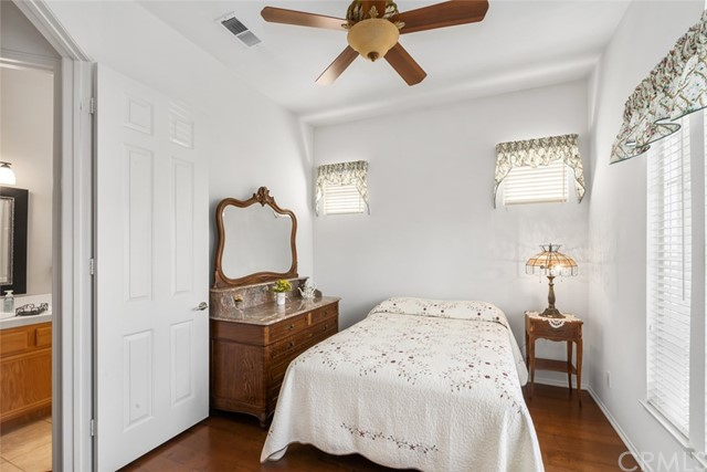 Secondary bedrooms feature neutral paint and are perfect for out-of-town guests