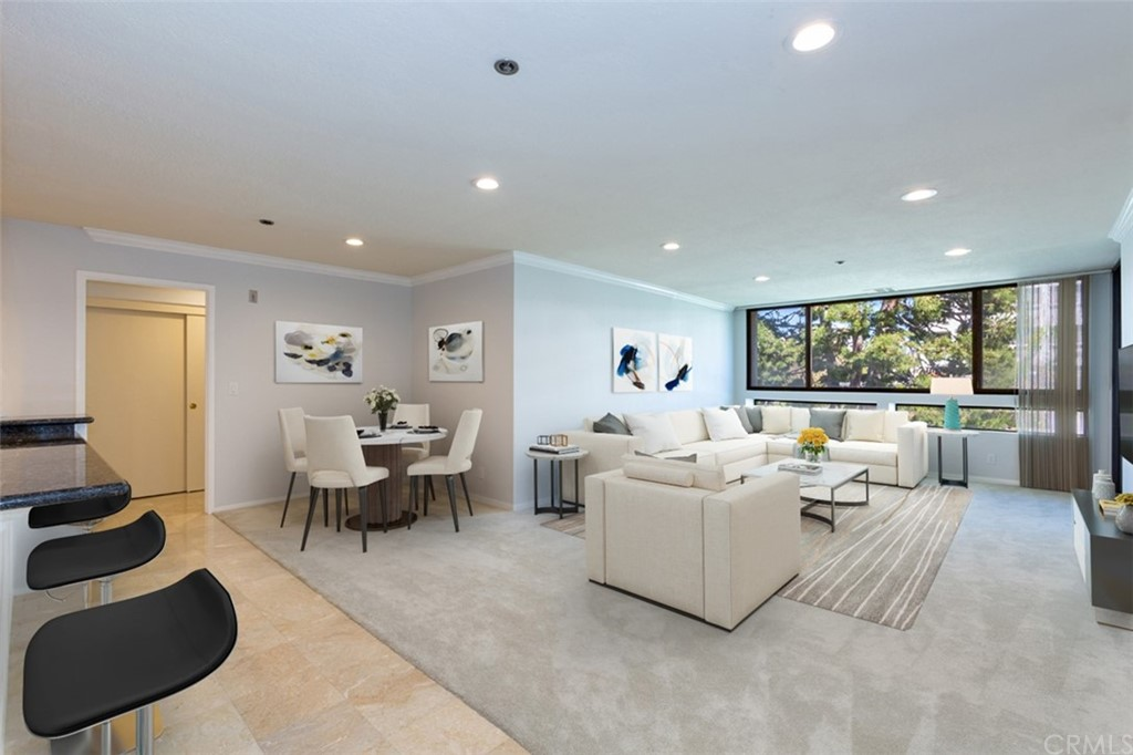 Living Area (virtual staging)