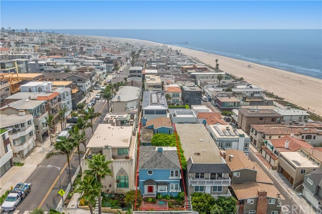 We are proud to present this extremely rare opportunity to purchase a full lot on a walk street in the 100 block of Manhattan Beach. This property is a developer's dream to be able to build on a north-facing lot just up from the strand. Currently, the existing building is a 2,554 sqft duplex situated on a 2,707 sqft lot. The front unit located on the walk street side was built in 1939 and consists of a 2-bed/1.5-bath unit. The second unit located on top of the 4-car garage was built in 1989 and consists of a 2-bed/2-bath unit. Both units are currently vacant. Do not let this opportunity pass by, as it won't last for long!