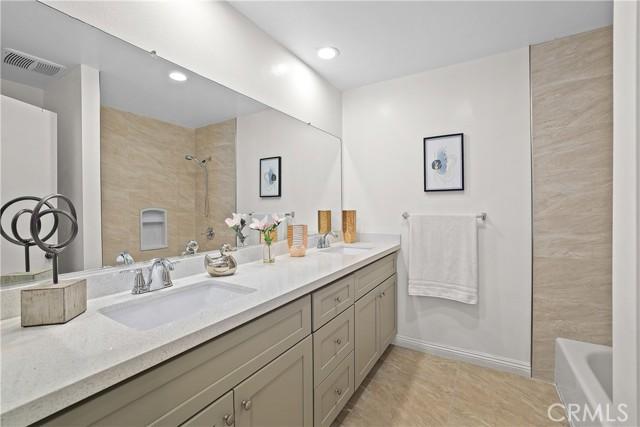 14 - Updated master bathroom