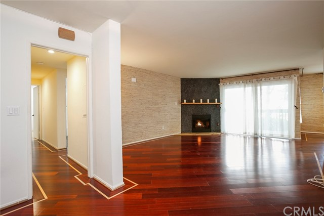 Wood like flooring in most rooms