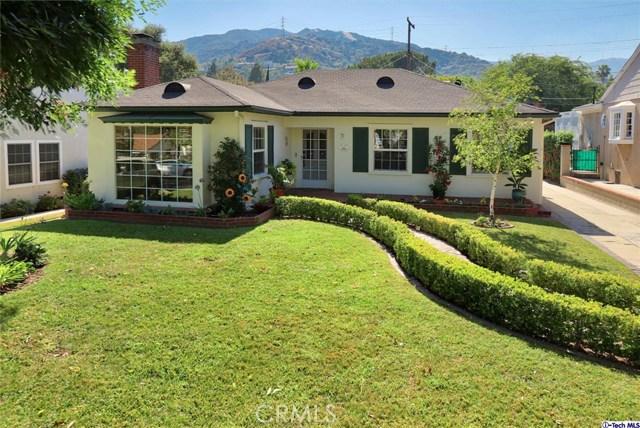 3435 Sierra Vista Avenue, Glendale, CA 91208