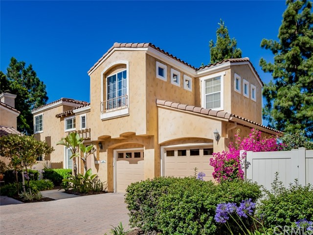 Bright and open 4 bedroom detached home with main floor bedroom and full bath plus bonus room and master retreat/nursery/den or office. Private patios and yard. Gated community located on the ridge of Wood Canyon featuring a pool and is adjacent to hiking and mountain biking trails that lead to Laguna Beach as well as Canyon View Park. The ocean is only 4 miles away providing cool breezes. Just upgraded with gorgeous waterproof wood look luxury vinyl tile flooring. Tall ceilings, lots of windows and huge kitchen with white cabinetry, granite counters, breakfast bar and nook plus formal dining room. Kitchen opens to family room with wood/gas fireplace and dining room which opens to living room as well. Upstairs laundry with linen storage. Luxurious master suite features a separate retreat or nursery, ceiling fan, walk in closet with organizer, dual sinks, separate shower and soaking tub plus walk in closet. Large secondary bedrooms include and main floor bedroom and bath. Great bonus room upstairs with recessed lighting. Direct access 2 car garage with roll up door and remote opener. Sought after schools include Don Juan Avila Elementary and Middle and Aliso Niguel High School. Ultra low total property tax rate of app 1.0055% with No Mello Roos.