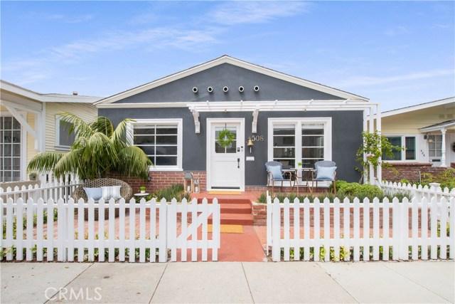 508 W Bay Avenue, Newport Beach, CA 92661