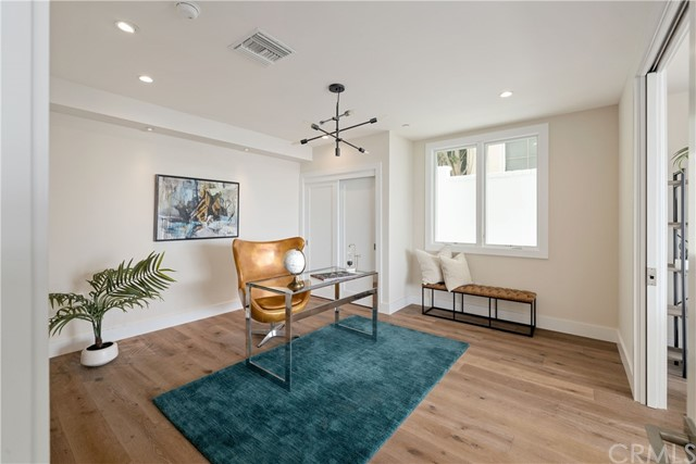 Ocean View Bedroom on lower level, great for home office, or private gym.