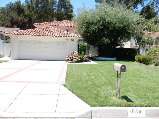 1649 Cataluna Place, Palos Verdes Estates, California 90274, 4 Bedrooms Bedrooms, ,2 BathroomsBathrooms,For Sale,Cataluna,SB20160072