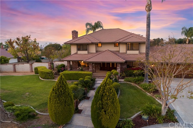 HAWARDEN HILLS- HISTORIC HAWARDEN DRIVE- Set upon the western promontory of the Alessandro Arroyo with expansive views of the the creek, hills and city lights and mountains beyond, this attractively upgraded home is offered on the open market for the first time ever! Custom constructed by Don DiManno and loaded with quality and amenities.  Sunken formal living room with masonry fireplace; Separate formal dining room;  Large island kitchen with near new upgraded appliances and granite counter-tops.  Open concept family room with cedar wood cathedral ceiling, masonry fireplace and three walls of windows bringing the outdoors in; Large breakfast room and walk-in pantry;  Ground floor bedroom with newly remodeled ensuite bath.  Second floor has two additional bedrooms with adjoining newly remodeled Jack 'n' Jill bath;  Secluded master suite with fireplace, newly remodeled bath, spacious walk-in-closet and private wrap around terrace to enjoy the views from.  The grounds include a beautiful Bogner Built pool and spa; loads of gardens and fruit trees, RV parking and an over-sized 4-car garage!  Presented in turn-key condition with new paint inside and out and all new flooring!