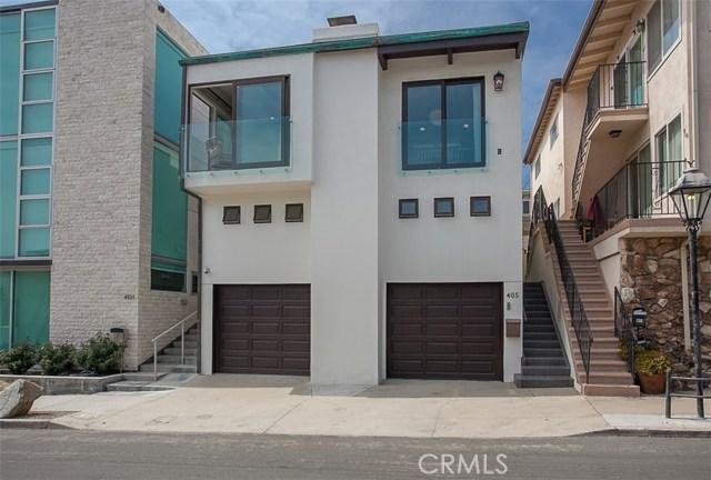 405 21st Street- Manhattan Beach- California 90266, 3 Bedrooms Bedrooms, ,1 BathroomBathrooms,For Sale,21st,SB18127040