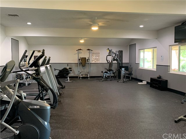 State of the Art Exercise Room