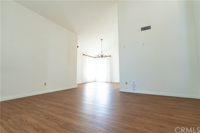 View into Dining Room from Living Room.