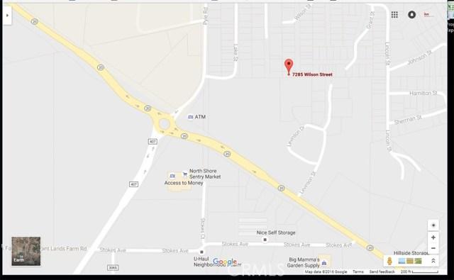 7285 Wilson Street, Nice, CA 95464