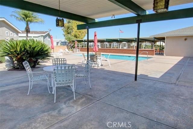 Covered Patio Area adjacent the Pool Area
