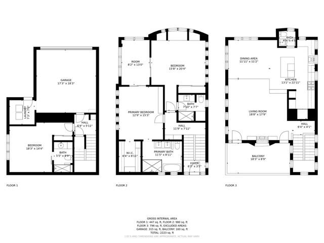 Floor plan & measurements