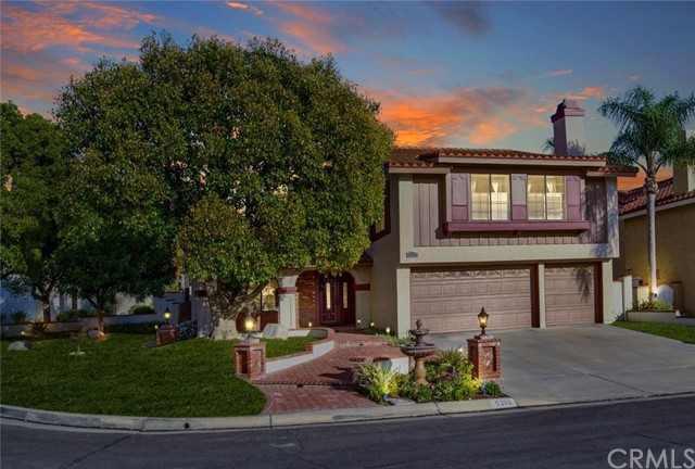 One of Tennis Court Yorba Linda Homes for Sale at 5300  Via Santander