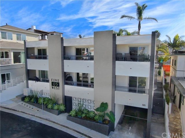 "505 West is quintessential Southern California coastal real estate.  This investment opportunity is located in the highly desirable ""Pier Bowl"" location of San Clemente, just a few steps to beaches (including world-class surfing spots), historical San Clemente pier, restaurants and shops.  505 has been extensively remodeled, with over $1 million dollars invested into the interiors and exterior of the building bringing modern luxury to San Clemente.  This opportunity features (2) studios, (2) one-bedroom/one-bathroom units and (4) two-bedroom/two-bathroom units with 75% of all units featuring ocean views.  This property features (10) gated community garage spaces, patios, balconies and on-site laundry.  505 West truly a rare and special piece of Southern California coastal real estate. *Incredible Ocean Views, *Prestigious Pier Bowl Location, *Steps to the Beach, Historical San Clemente Pier, Restaurants & Shops, *Over $1 Million in Renovations and Upgrades, *Immaculate Modern Style Interiors, *Prime Candidate for Vacation Rental-Permits Available, *Irreplaceable Real Estate"