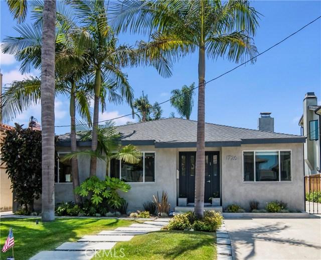 1726 1st Street, Manhattan Beach, California 90266, 4 Bedrooms Bedrooms, ,3 BathroomsBathrooms,For Sale,1st,SB18155216