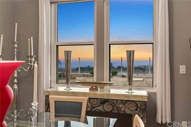 Enjoy the pretty ocean views from the dining room...