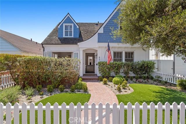 417 Belvue Lane, Newport Beach, CA 92661