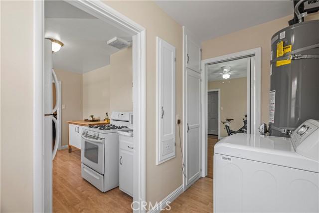 Kitchen/ laundry room/ bedroom 3 doorway
