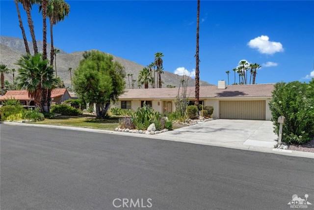 1160 Anza Drive, Palm Springs, CA 92264