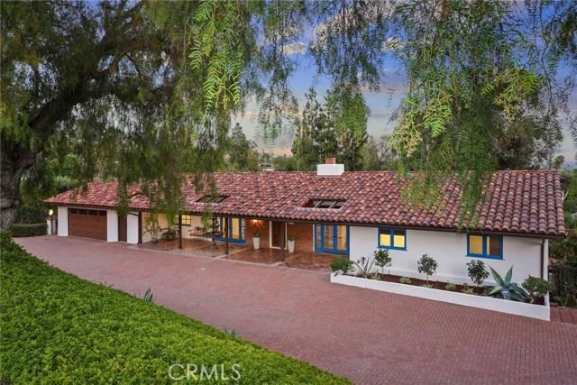 4 La Rama Drive, North Tustin, CA 92705