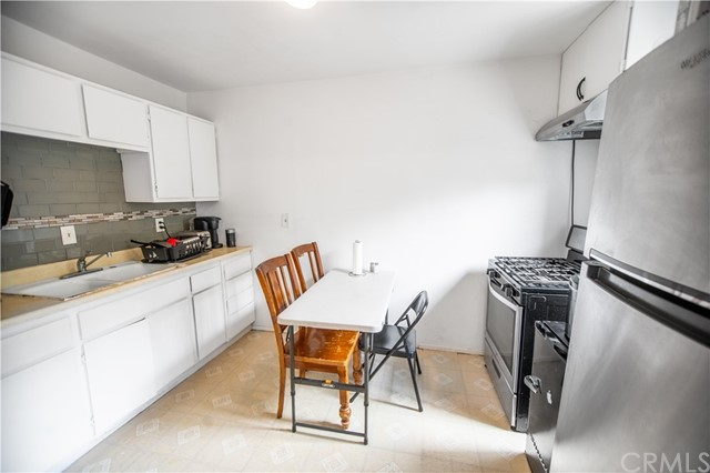 Back Apartment Kitchen