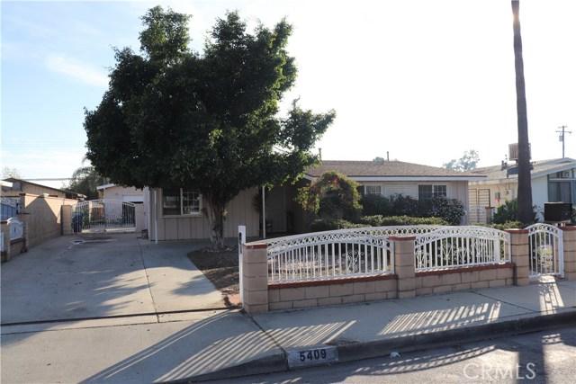 5409 Rosewood Street, Montclair, CA 91763