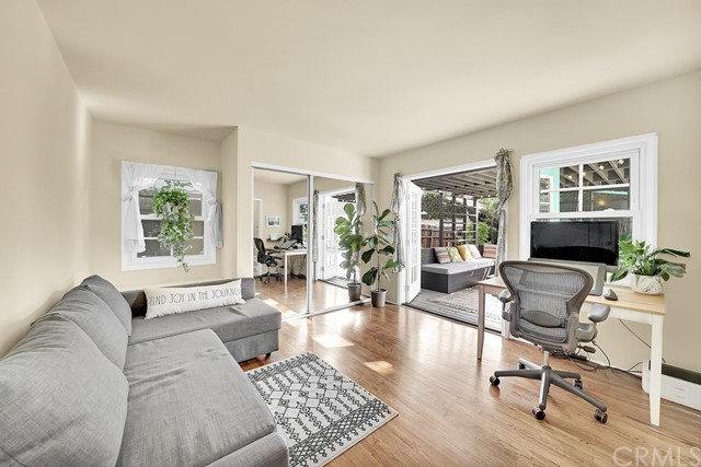 gorgeous downstairs master opens to spacious lovely Lanai style patio