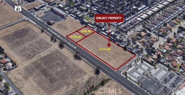 0 SEC Foothill Blvd & N Larch Ave Boulevard, Rialto, CA 92376