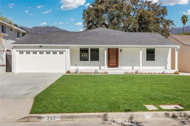 247 E Newman Avenue, Arcadia, CA 91006