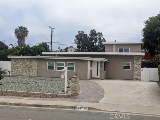 967 Cuyamaca Avenue Chula Vista, CA 91911