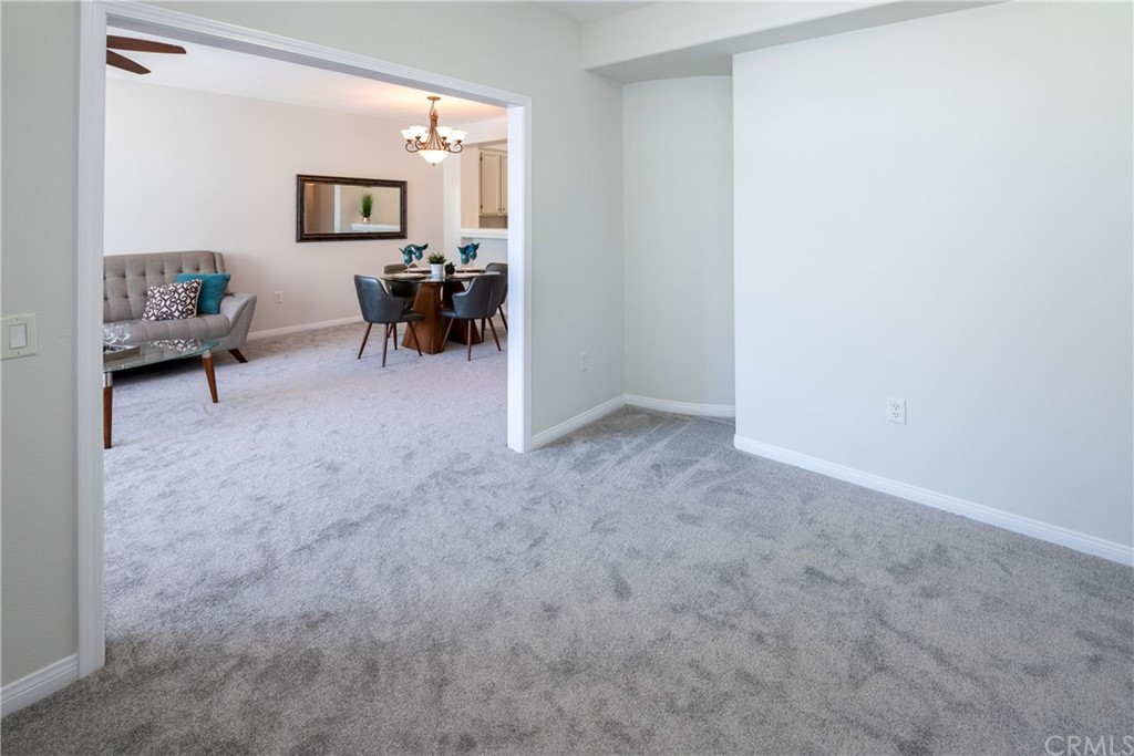 Peaceful, Quiet and Bright End Unit Location on the Top Floor.