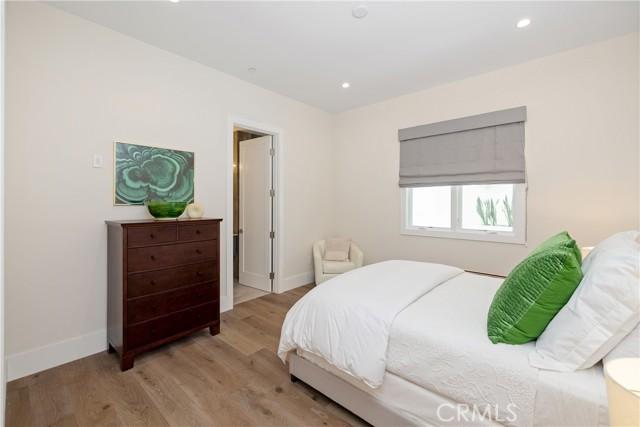 Main level bedroom and full bath