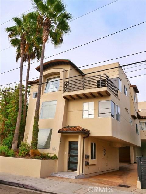 1157 Cypress Avenue 1, Hermosa Beach, California 90254, 3 Bedrooms Bedrooms, ,3 BathroomsBathrooms,For Sale,Cypress,SB21001103