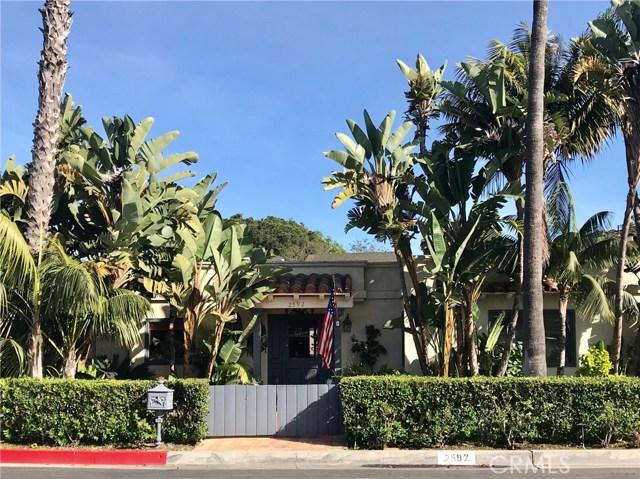 2592 Arbor Drive Newport Beach, CA 92663