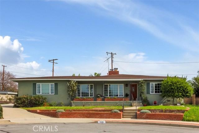 526 E Fir Street, Brea, CA 92821