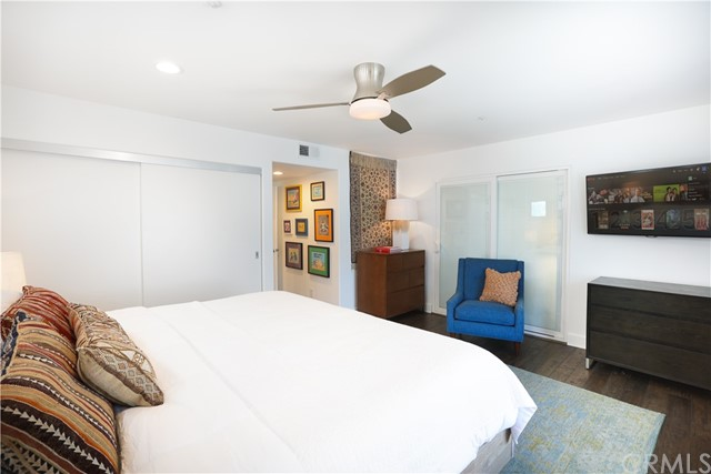 Another view of 2nd bedroom suite, also has king size bed & tables