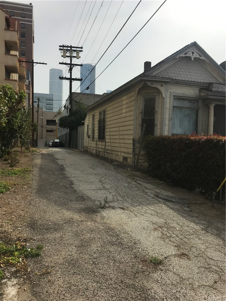 Property has two points of alley access - one pictured above.