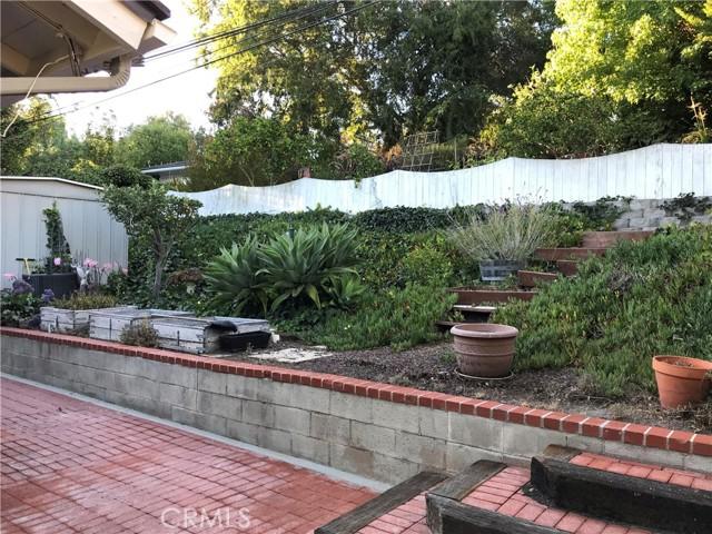 Rear Patio & Terraced Garden