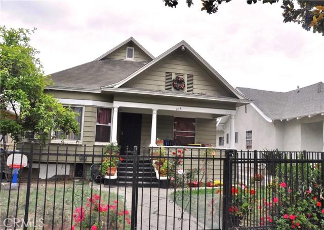216 W 49th Street, Los Angeles, CA 90037