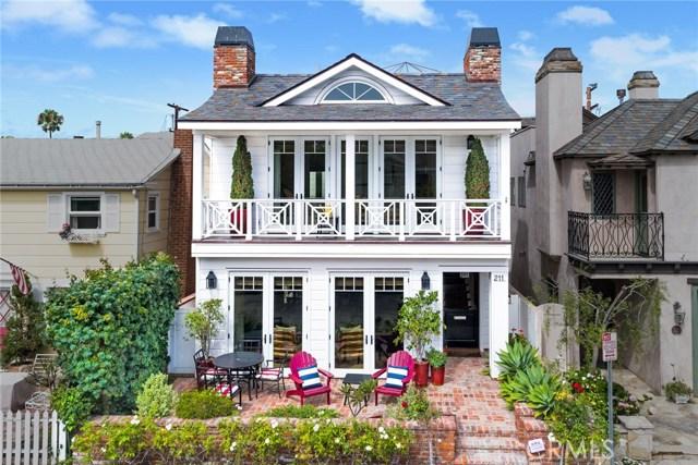 211 Coral Avenue, Newport Beach, CA 92662