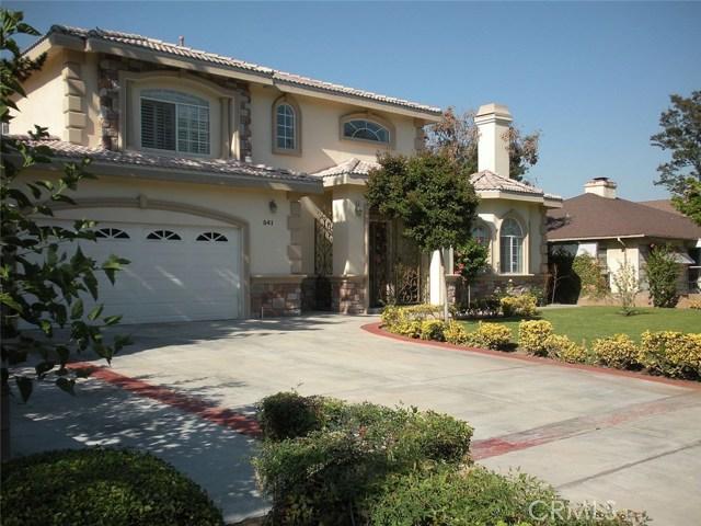 541 Workman Avenue Arcadia, CA 91007